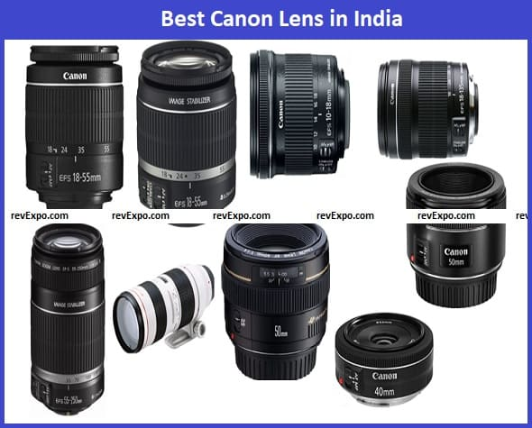 Best Canon Lens in India