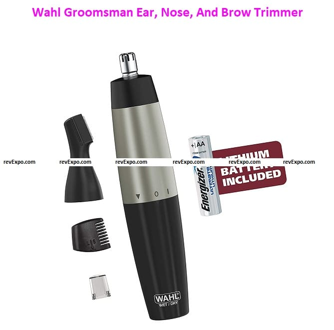 Wahl Groomsman Ear, Nose And Brow Trimmer