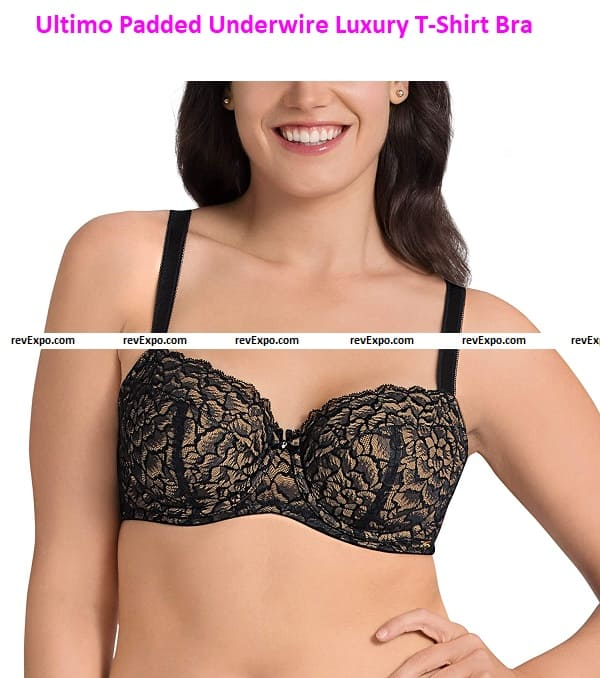 Ultimo Padded Underwire Luxury Super Support T-Shirt Bra