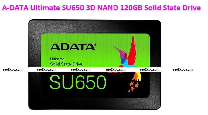 A-DATA Ultimate SU650 3D NAND 120GB Solid-state drive