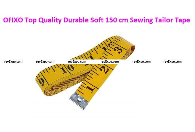 OFIXO Top Quality Durable Soft 1.50 Meter 150 cm Sewing Tailor Tape
