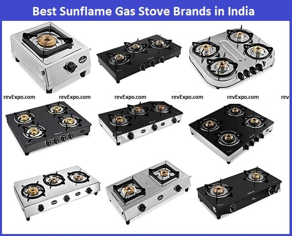 Best Sunflame Gas Stove models in India