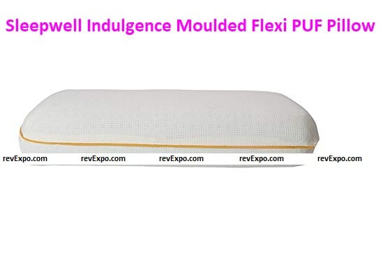 Sleepwell Indulgence Moulded Flexi PUF Pillow (XL)