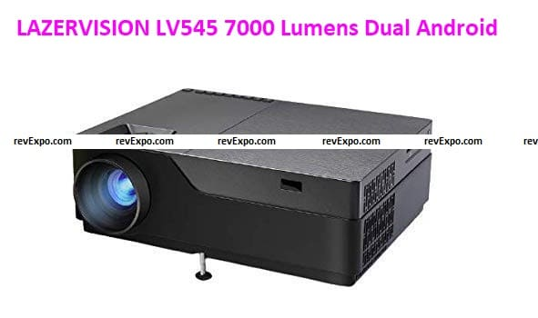 LAZERVISION LV545 7000 Lumens Dual Android Projector