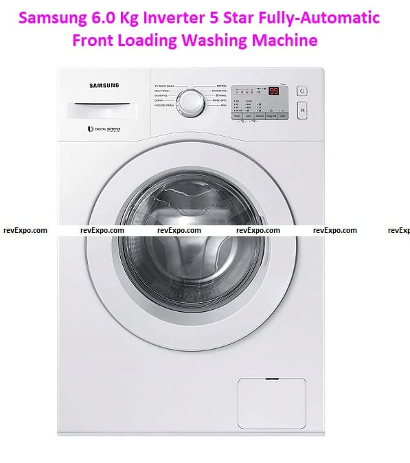 Samsung 6.0 Kg Inverter 5 Star Fully-Automatic Front Loading Washing Machine