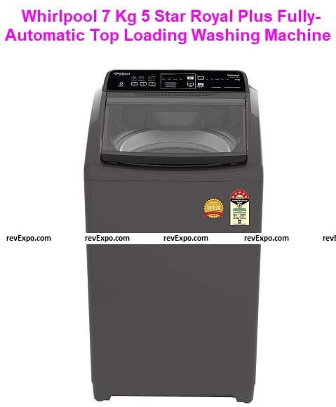Whirlpool 7 Kg 5 Star Royal Plus Fully-Automatic Top Loading Washing Machine