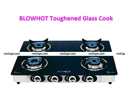 BLOWHOT Toughened Glass Cook