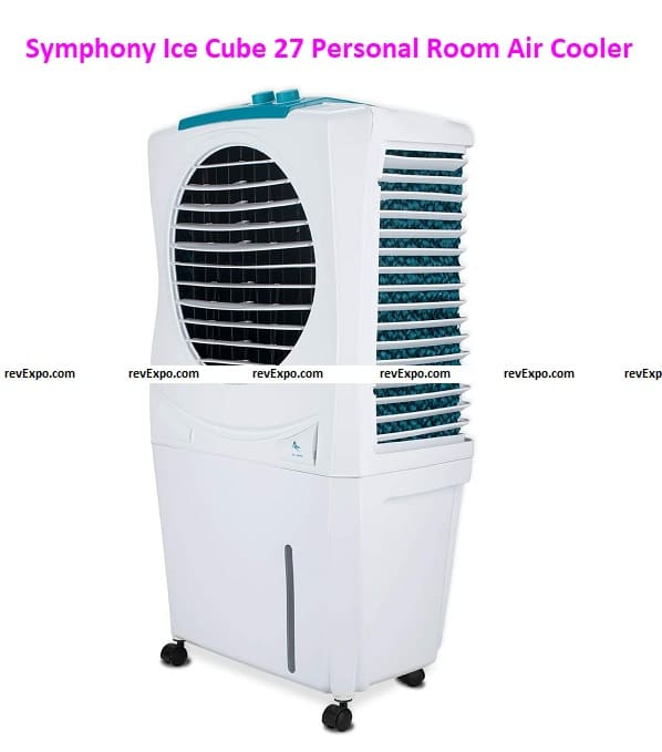 Symphony Ice Cube 27 Personal Room Air Cooler 27-litres with Powerful Fan