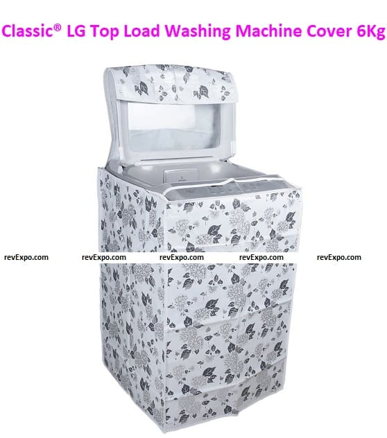 Classic LG Top Load Washing Machine Cover Suitable