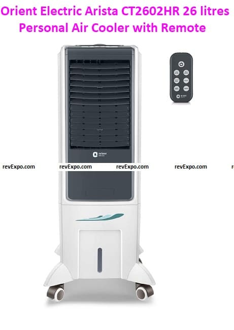 Orient Electric Arista CT2602HR 26 liters Personal Air Cooler with Remote