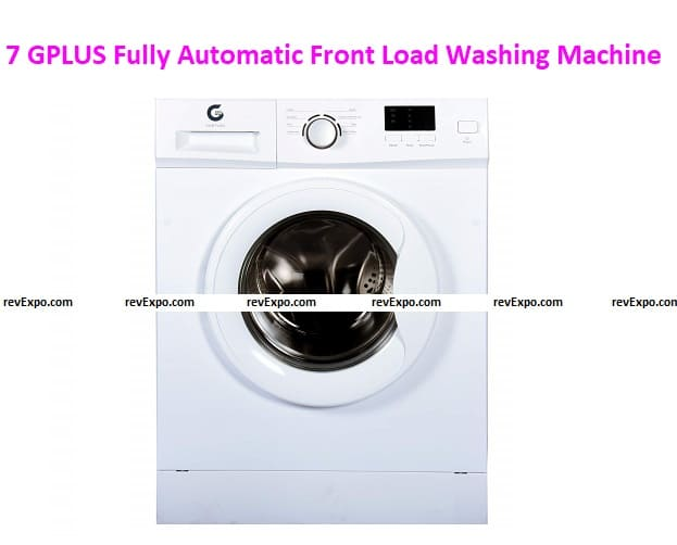 GPLUS Fully Automatic Front Load Washing Machine - 8 Unique Programs for Wash