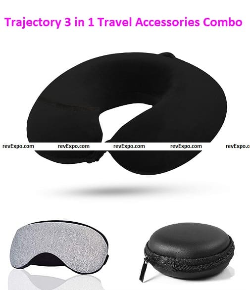 Trajectory 3 in 1 Travel Accessories Combo