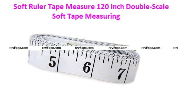 Soft Ruler Tape Measure 300cm/120 Inch Double-Scale Soft Tape