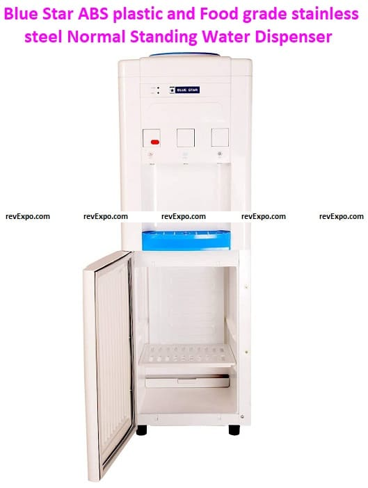 Blue Star ABS plastic and Food grade stainless steel Normal Standing Water Dispenser