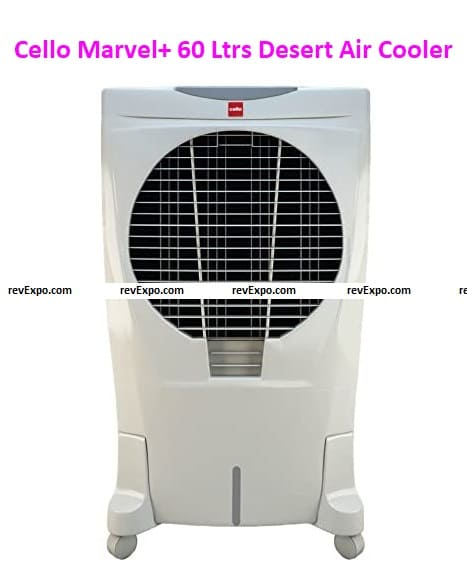 Cello Marvel+ 60 Ltrs Desert Air Cooler - with Remote Control