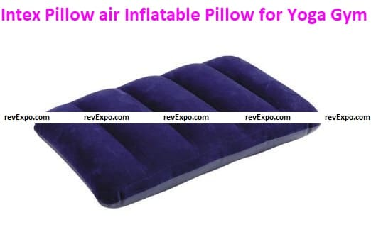 Intex Pillow air Inflatable Pillow for Yoga Gym