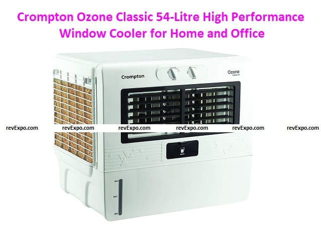 Crompton Ozone Classic 54-Litre High-Performance Window Cooler for Home and Office