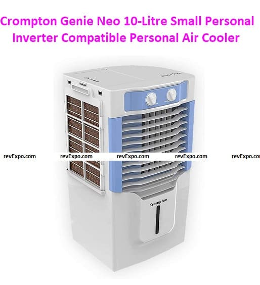 Crompton Genie Neo 10-Litre Small Personal Inverter Compatible Personal Air Cooler