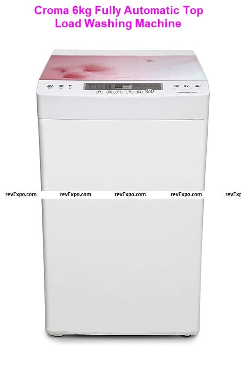 Croma 6kg Fully Automatic Top Load Washing Machine