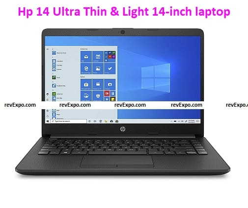 HP 14 Ultra-Thin and Light Laptop