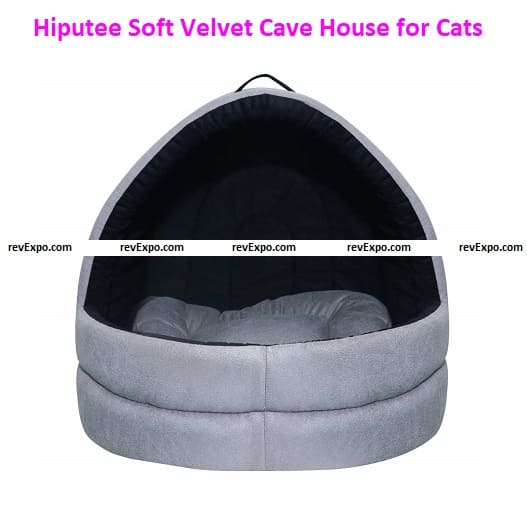 Hiputee Soft Velvet Cave for Cats