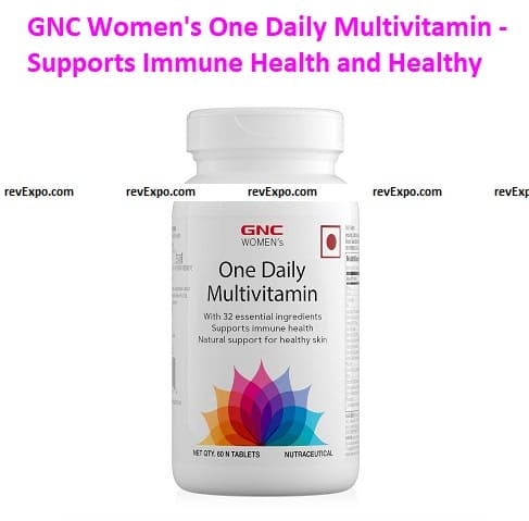 GNC Women's One Daily Multivitamin - Supports Immune Health and Healthy Skin