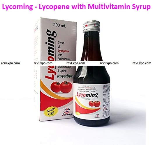 Lycoming - Lycopene with Multivitamin Antioxidant Syrup