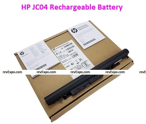 HP JC04 Rechargeable Battery (Black)
