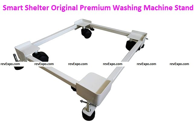 Smart Shelter Original PremiumHeavy Duty Front/Top Load Washing Machine stands