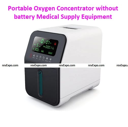 Portable Oxygen Concentrators without battery Medical Supply Equipment 1-6/7/8 l