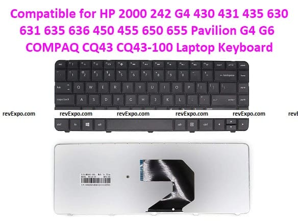 Compatible for HP Laptop keyboard