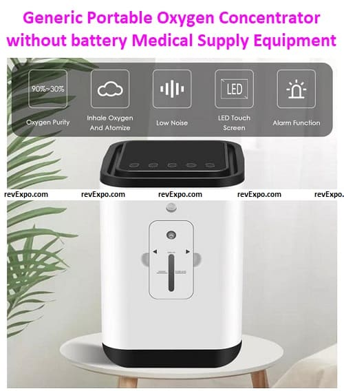 Generic Portable Oxygen Concentrators without battery Medical Supply Equipment