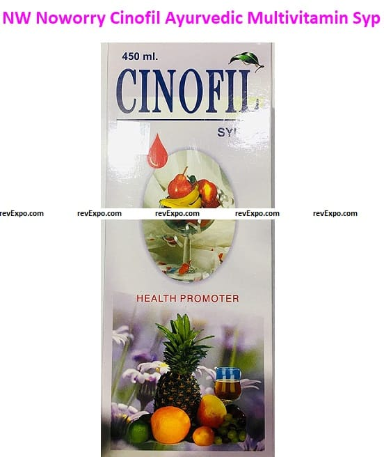 NW Noworry Cinofil Ayurvedic Multivitamin Syrup