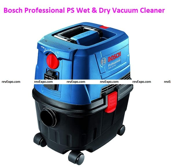 Bosch GAS 15 Professional PS Wet & Dry Extractor/Vacuum Cleaner Heavy Duty