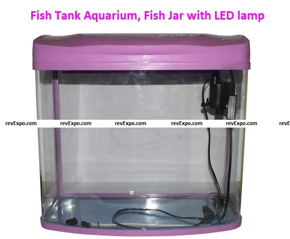 Coolboss Fish Jar with LED lamp