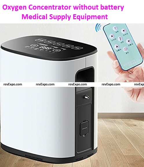 Oxygen Concentrators without battery Medical Supply Equipment 1-8 liter.