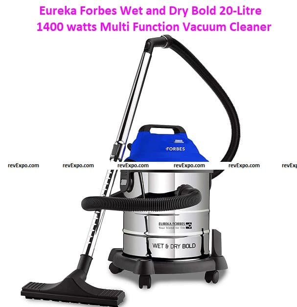 Eureka Forbes Wet and Dry Bold 20-Litre 1400 watts Multi-Function Vacuum Cleaner