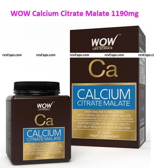 WOW Calcium Citrate Malate