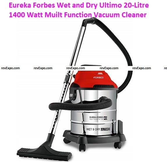Eureka Forbes Wet and Dry Ultimo 20-Litre 1400 Watt Multi-Function Vacuum Cleaner