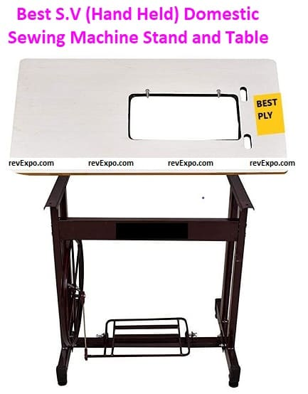 Best S.V (Hand Held) Domestic Sewing Machine Stand and Tables