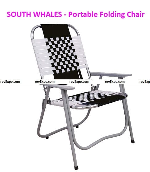 SOUTH WHALES - Trust Never Sinks Portable Folding Chair