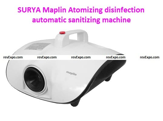 SURYA Maplin Atomizing disinfection automatic sanitizing machine for Home Office Warehouse Shops