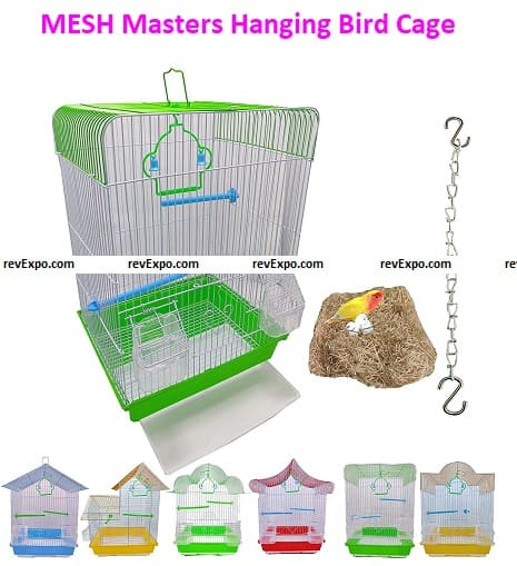 MESH Masters Bird Cage for love birds