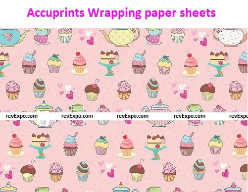 Accuprints Wrapping paper sheets