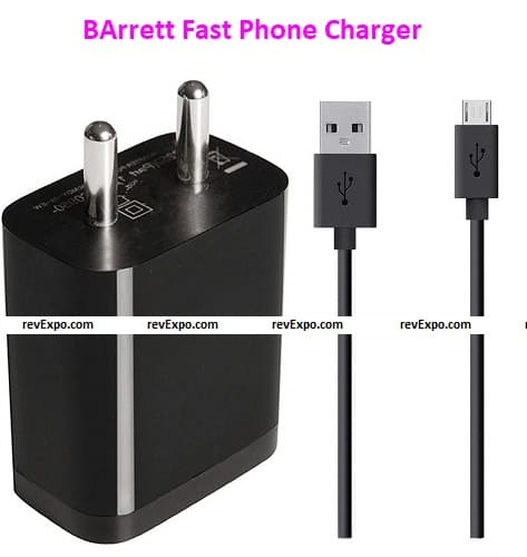 BArrett Fast Phone Charger for Mi Devices