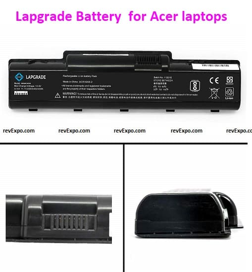 Lapgrade Battery compatible for Acer laptops