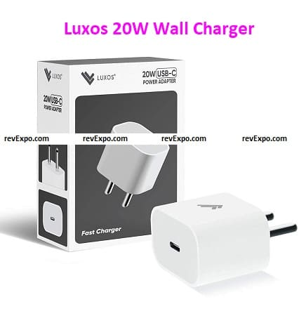 Luxos 20W Wall Charger