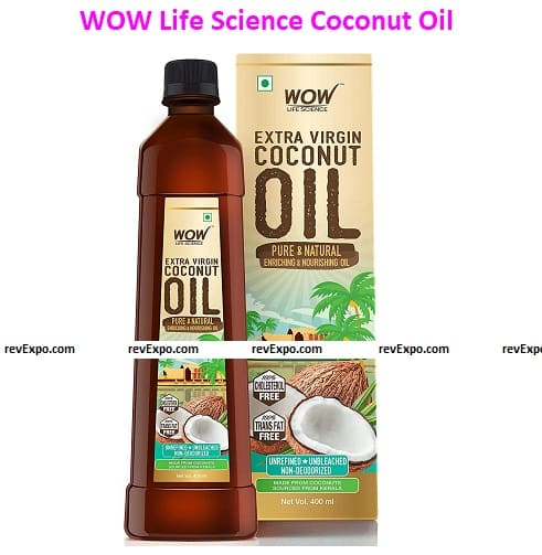 WOW Life Science Cold Pressed Coconut Oil