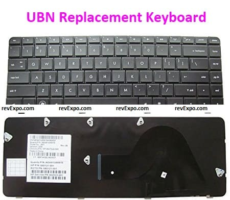 UBN Replacement Keyboard for HP Compaq Presario