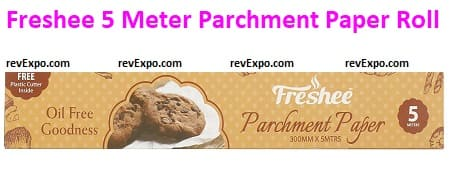 Freshee 5 Meter Parchment Paper Roll